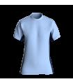 Camiseta Slim fit Mujer Azul