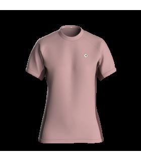Camiseta Slim fit Mujer Rosa