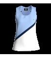 Camiseta Tirantes Mujer Azul/Blanco